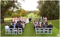 Overview of Golfcourse Wedding