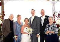 Hill Prairie Winery Wedding Ceremony Photograph {Family Group Shots}