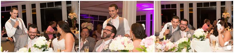 Wedding Party entering Wedding Reception