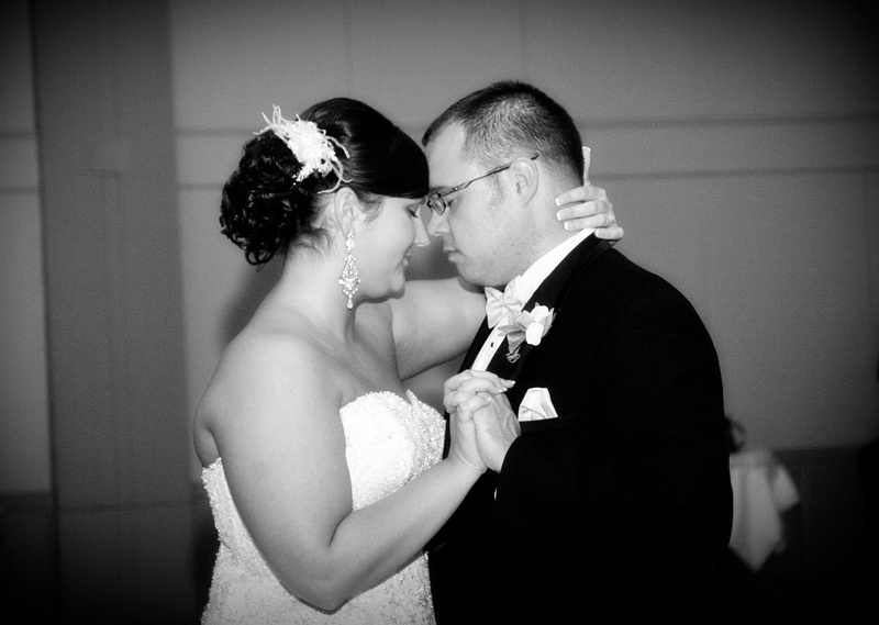 Married couples first dance at the Abraham Lincoln Hotel and Conference Center Springfield, IL