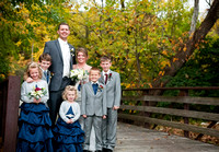Wedding Party Photographs | Hill Prairie Winery {Springfield, IL Wedding Photographer}