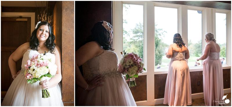 Bridal Party watching Wedding