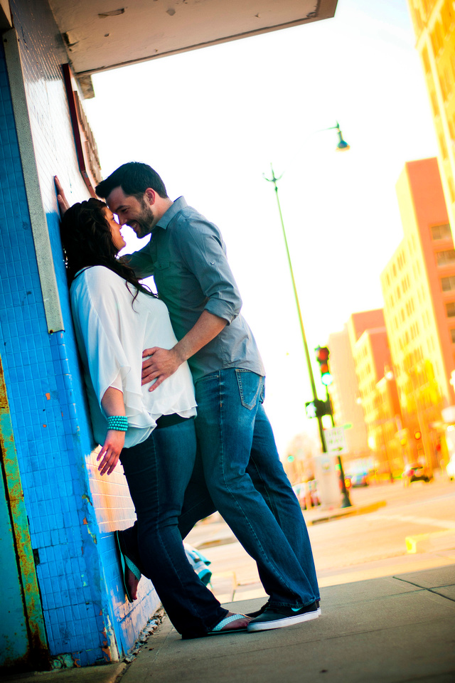 Engagement Photographs taken in Springfield IL