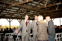 Hill Prairie Winery Wedding Ceremony Photograph